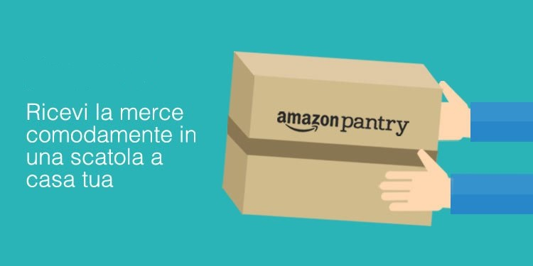 Online il supermercato su Amazon: Pantry