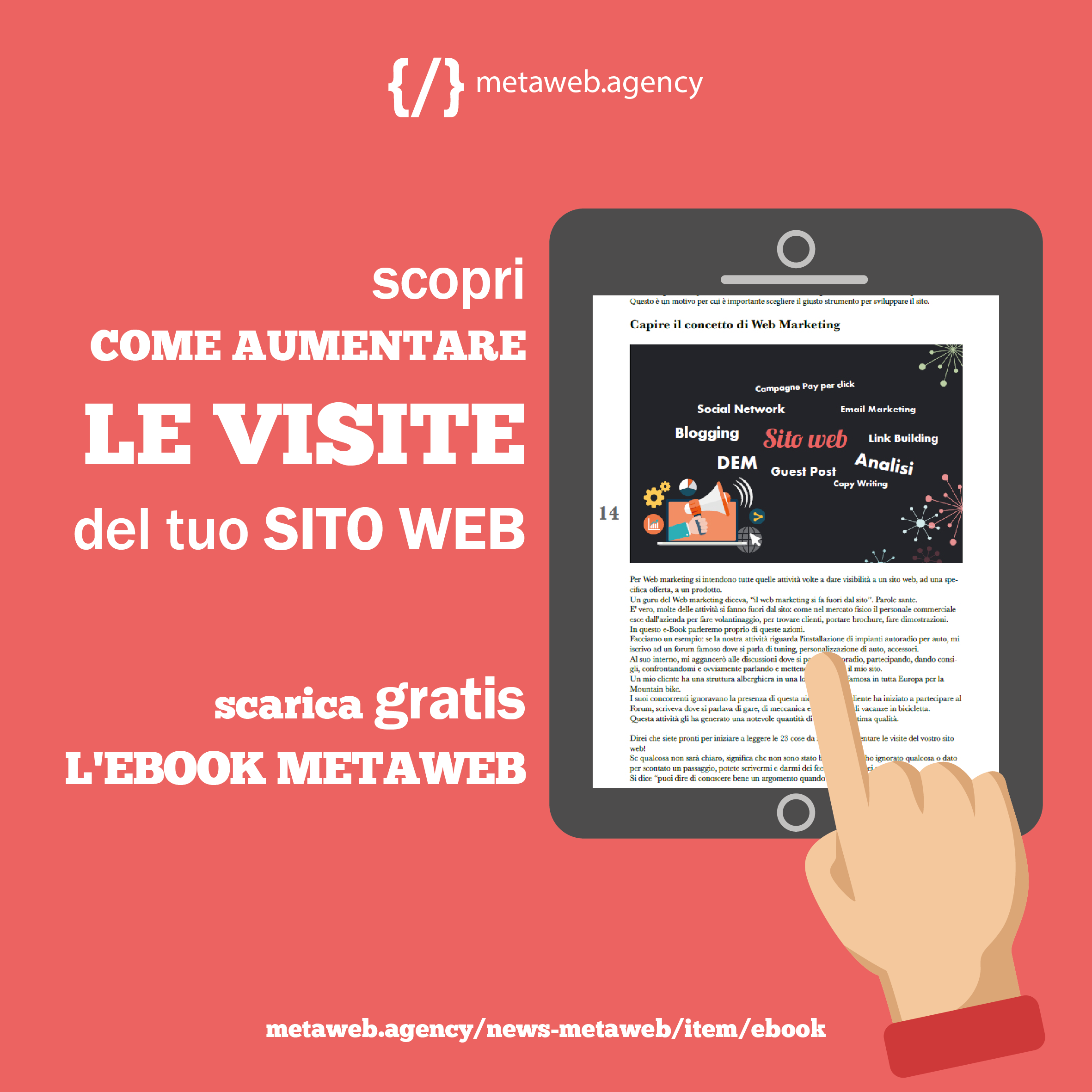 ebook gratuito - aumenta le visite del tuo sito web