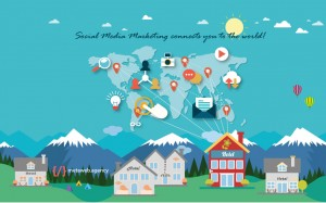 Gestione del social media marketing per aumentare le visite