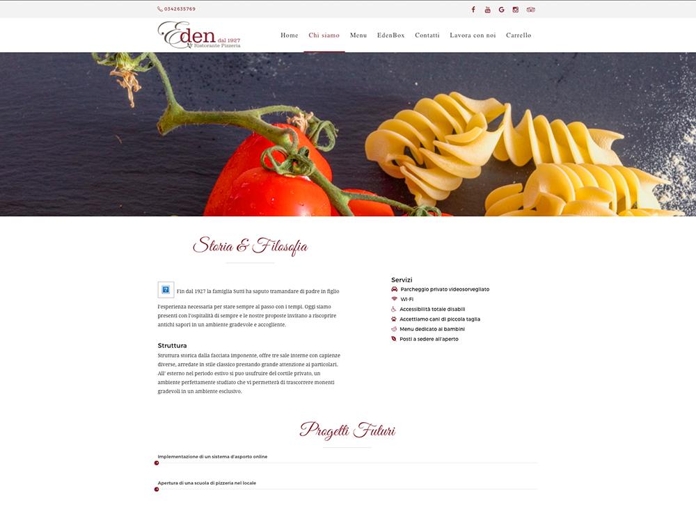 Crea il sito web per il tuo ristorante for Crea il tuo sito web personale